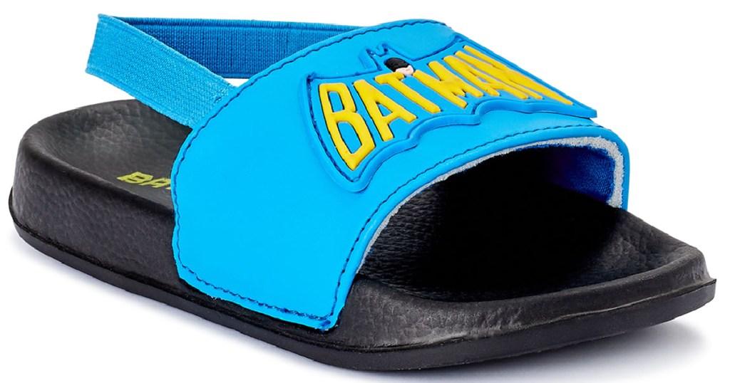 batman toddler sandals