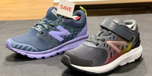 Two Pairs of Kids New Balance Sneakers Just $60 Shipped (Regularly $90+) | Only $30 Each