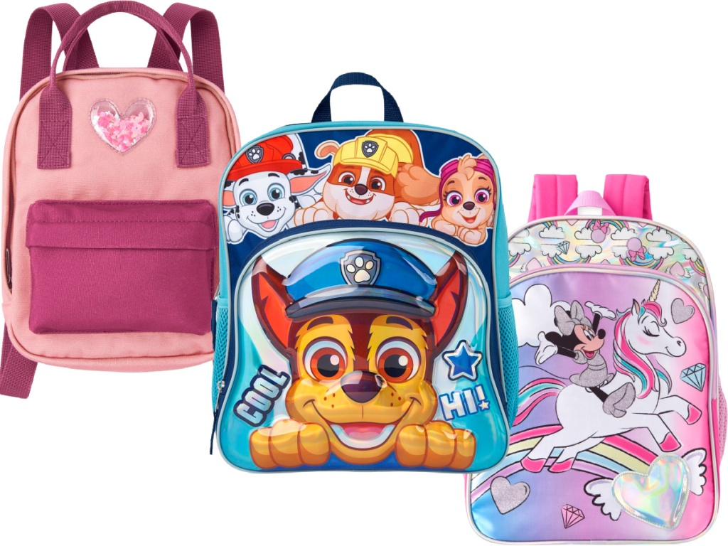 Kids backpacks at the children's place