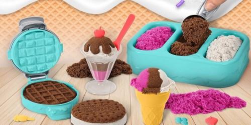 Kinetic Sand Ice Cream Playset Only $11.99 on Amazon (Regularly $15)