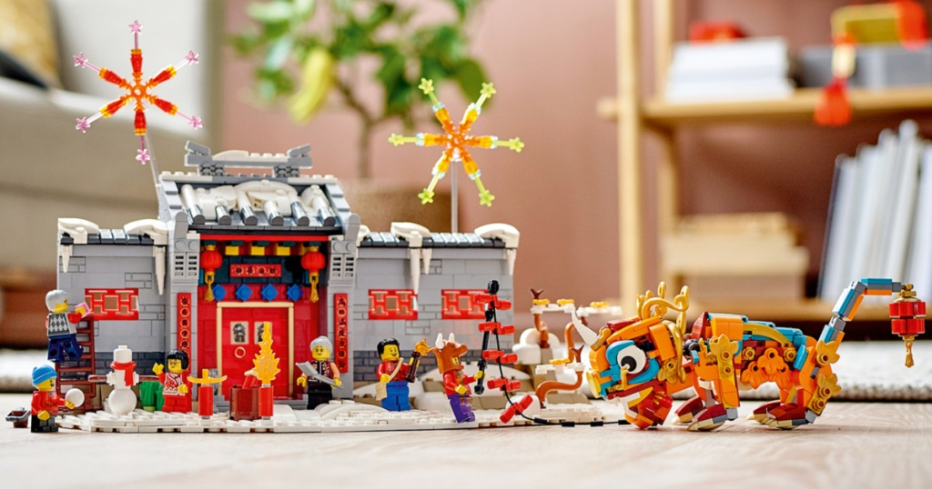 LEGO Story of Nian 80106 Educational Lunar New Year Toy for Kids