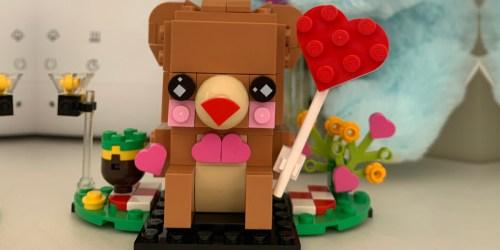 LEGO BrickHeadz Valentine's Bear Only $5 on Walmart.com (Regularly $10)