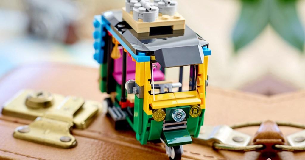 lego tuk tuk building set