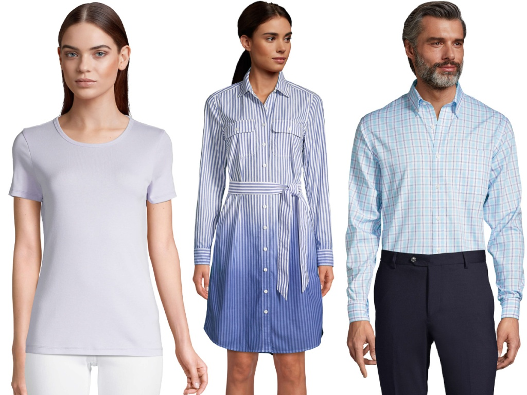 Lands' End Women's and men's clothing