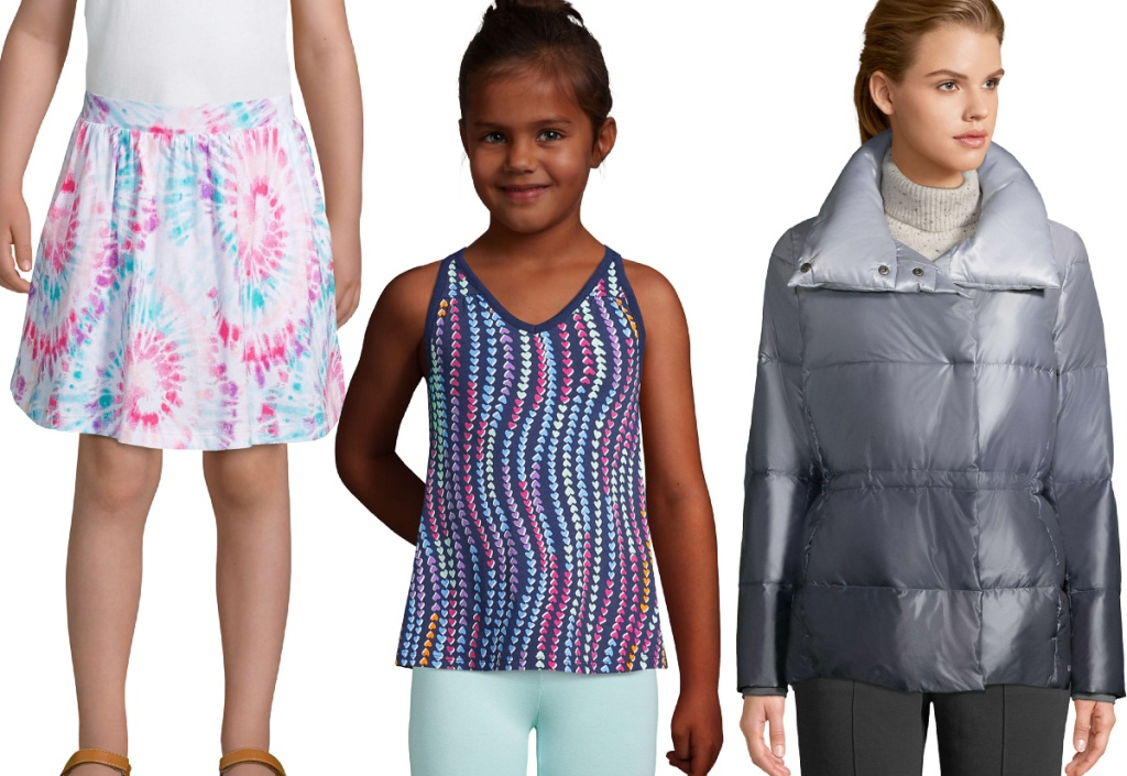 Lands' End girls and women clothing