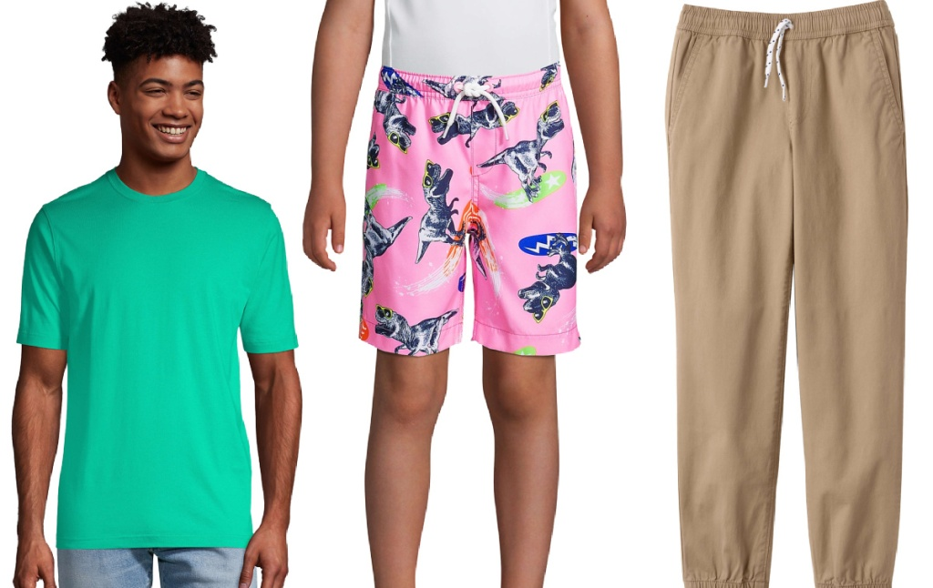 Lands' End mens and boys clothing