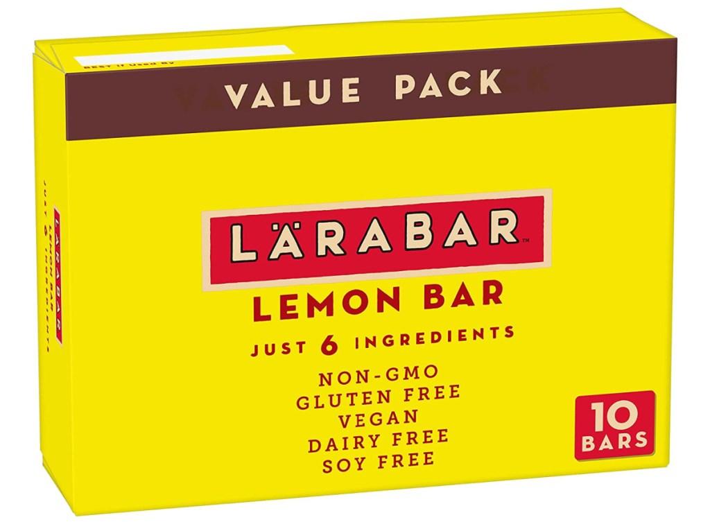 Larabar lemon value pack