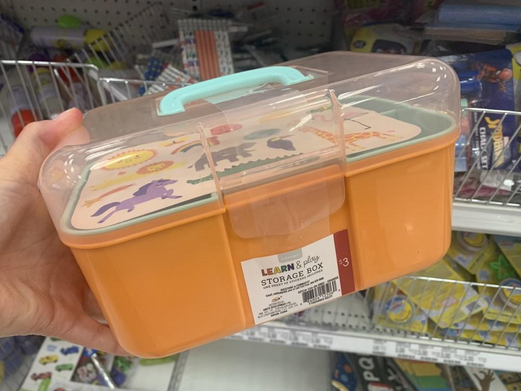 Learn & Play Storage Box
