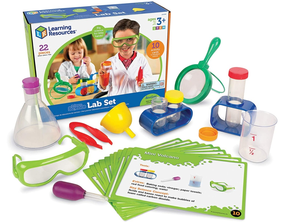Learning Resouces Primary Science Learning Lab Set