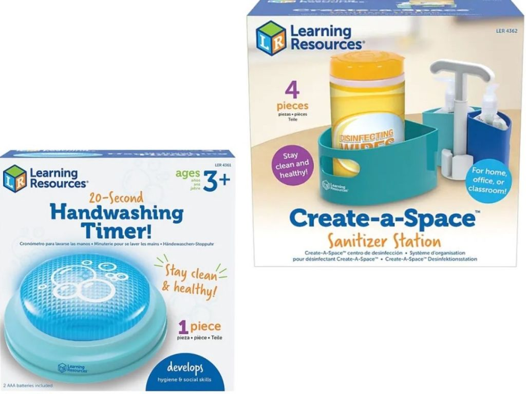 Learning Resources Hand washing Timer or Sanitizer Station