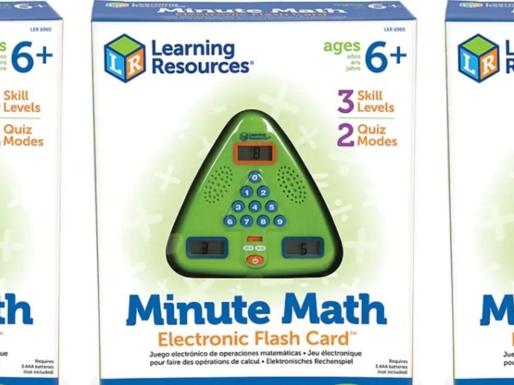 Learning Resources Minute Math