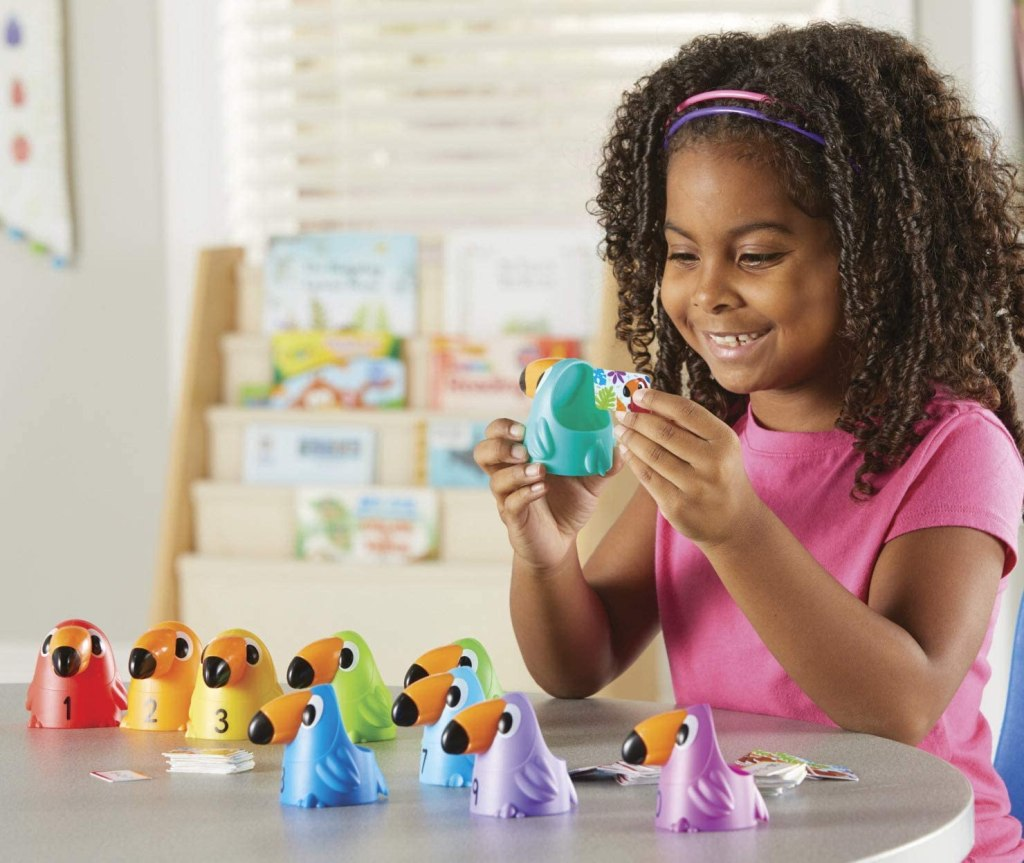 Learning Resources Toucans to 10 Sorting Set