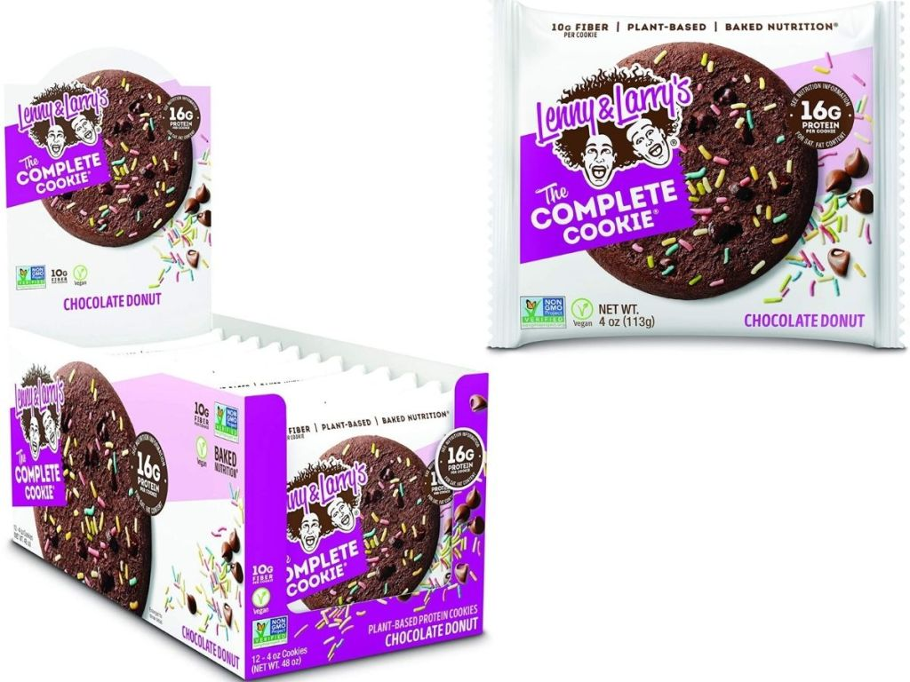 Lenny & Larry's the complete cookie Chocolate Donut 12-pack