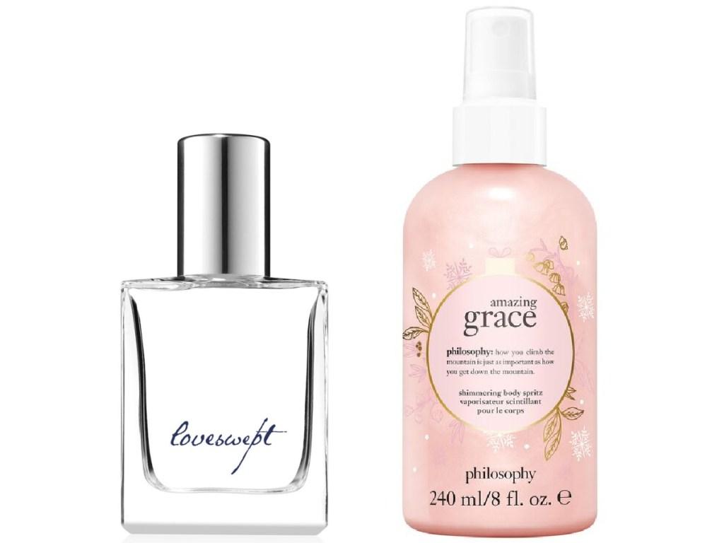 Loveswept Eau De Toilette and Amazing Grace Shimmering Body Spritz