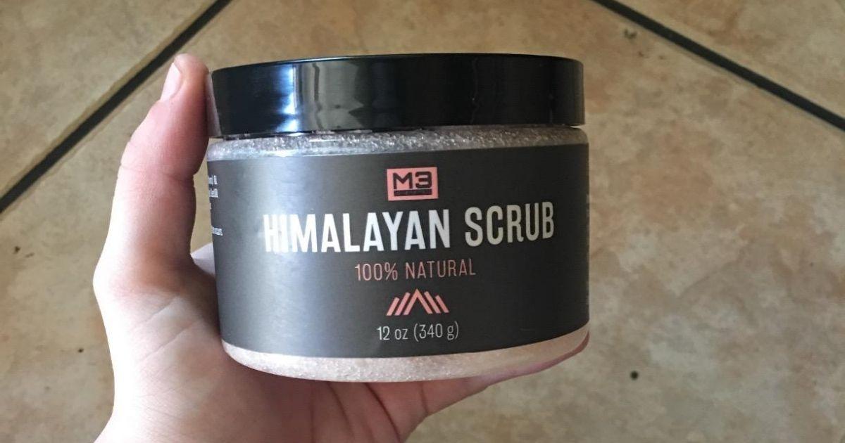 M3 Naturals Himalayan Salt Body Scrub