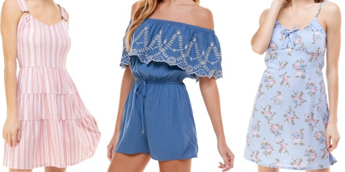 Juniors' Dresses & Rompers Only $14.99 on Macy's.com (Regularly $29)
