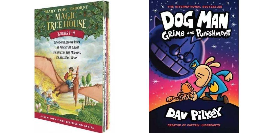 Magic Treehouse and Dog Man Books