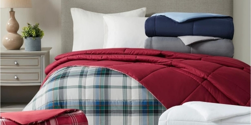 Martha Stewart Reversible Comforters in ANY Size Just $21.99 on Macys.com (Regularly $110)