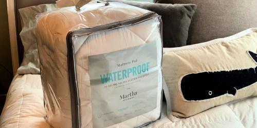Martha Stewart Twin or Full Waterproof Mattress Pads Only $19.99 on Macys.com (Regularly $80)