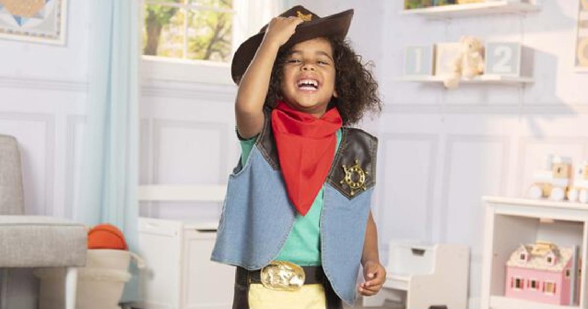 Melissa Doug Cowboy Costume