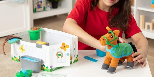 Melissa & Doug Horse Care Playset Only $12.96 on Macy's.com (Regularly $33) + More Toy Deals