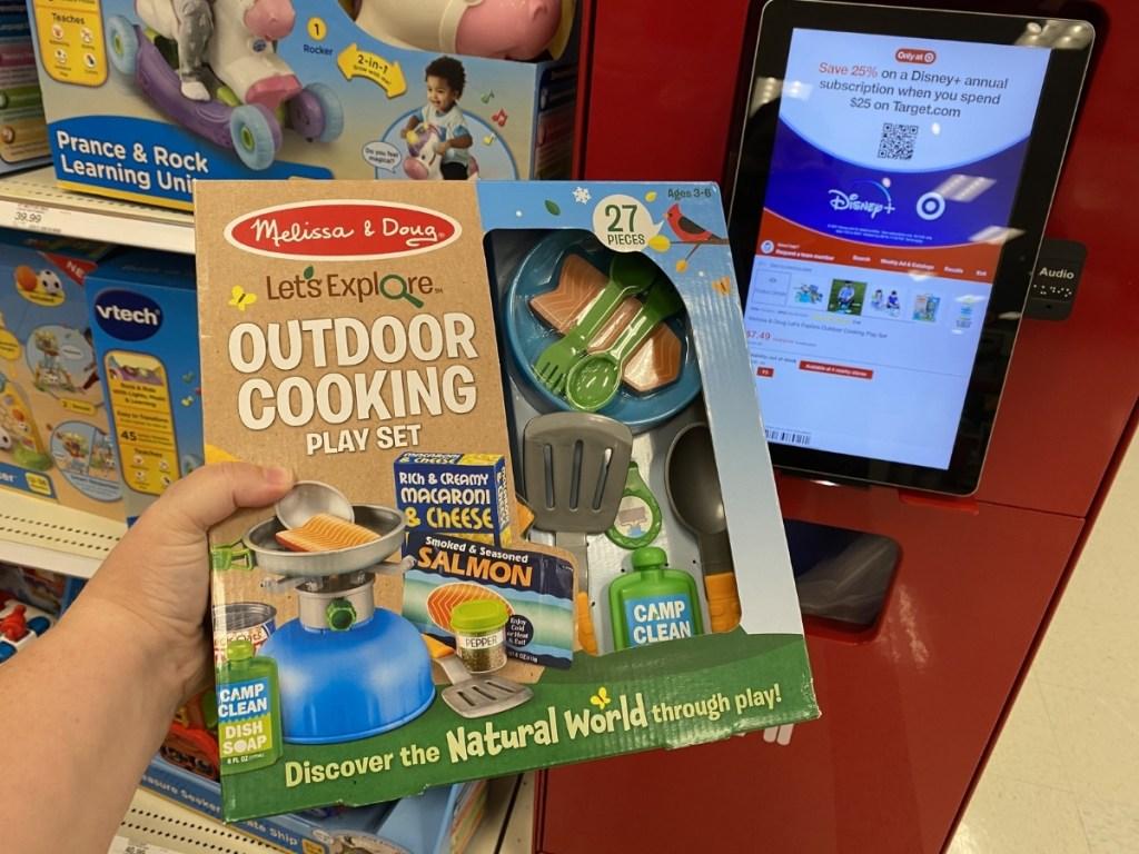 Melissa & Doug Let's Explore Outdoor Cooking Play Set