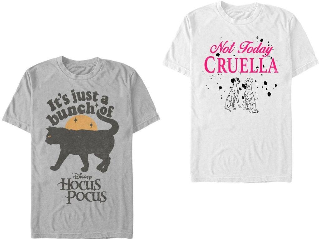 two men's Disney T-Shirts