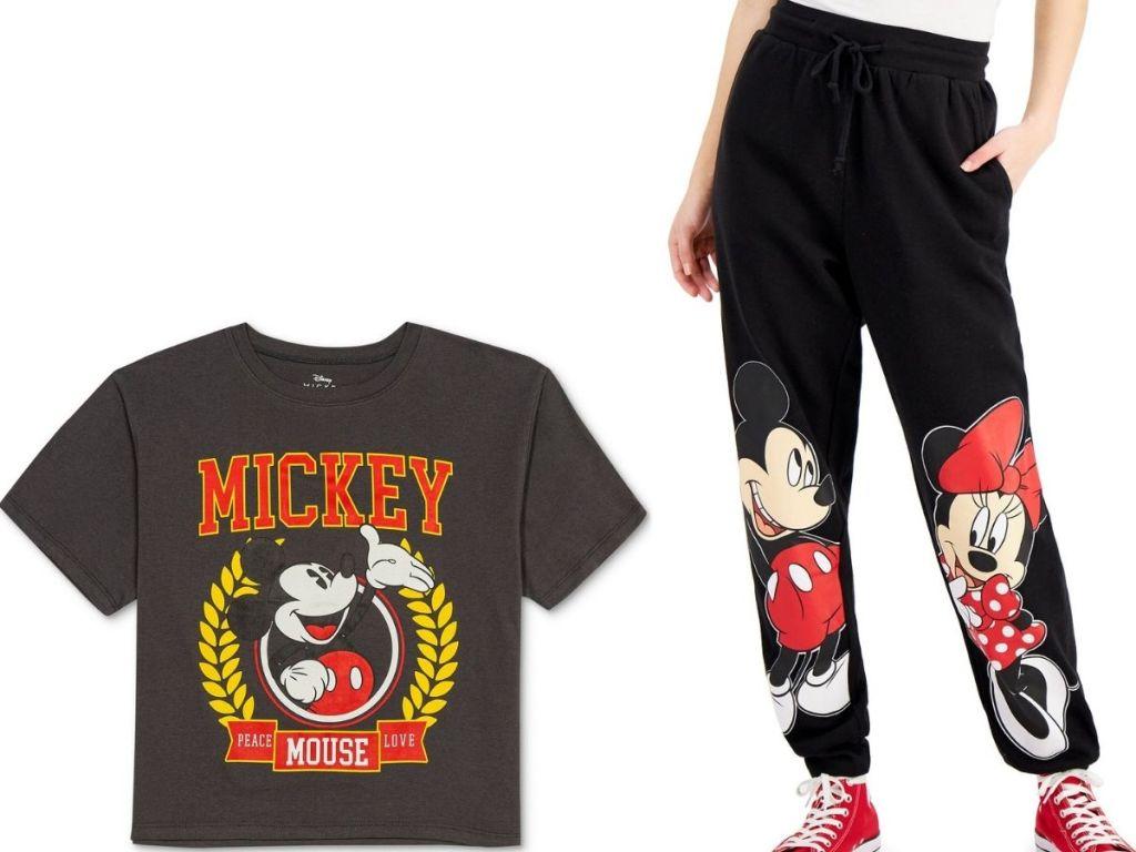 Juniors Mickey Shirt and Joggers