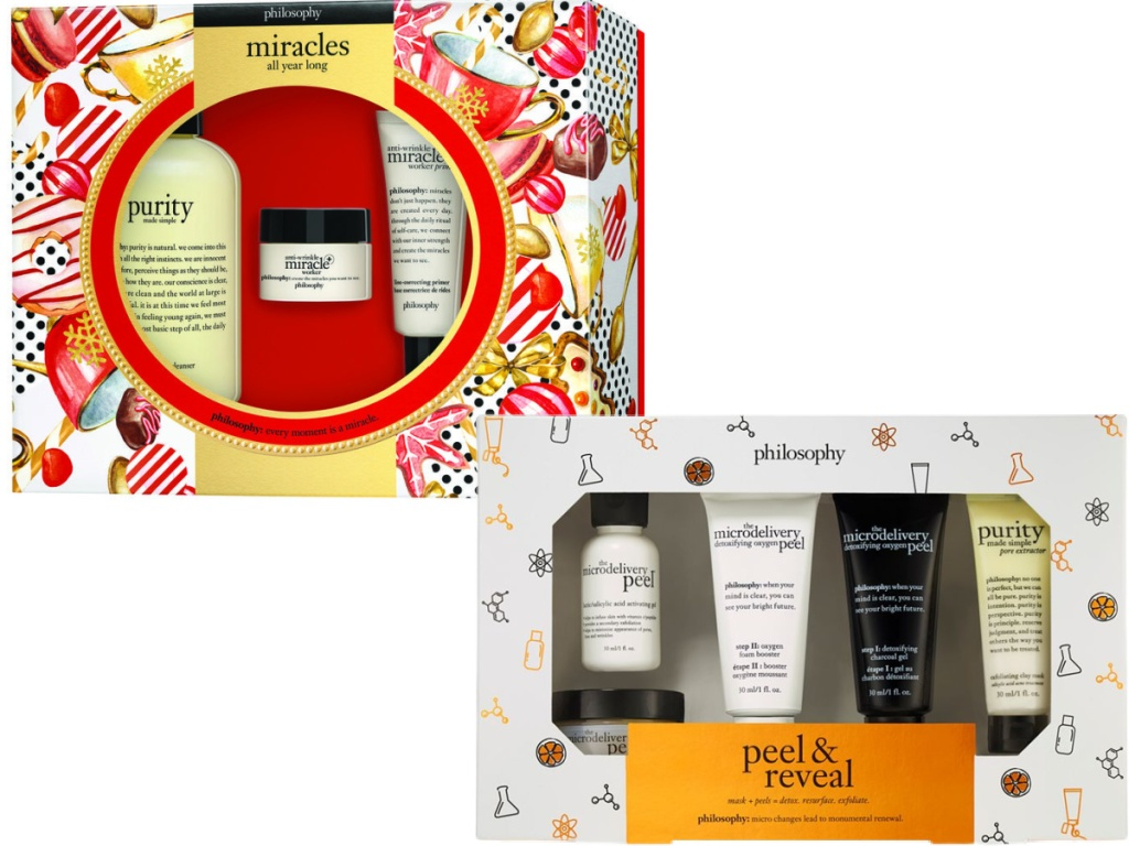 Miracles All Year Long 3-Piece Skin Care Set and Peel & Reveal Mask Set