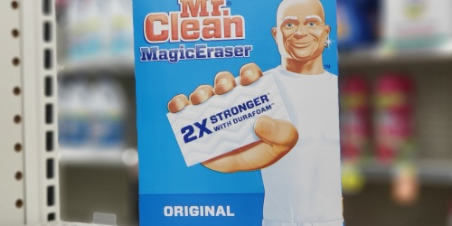 Mr. Clean Magic Erasers 9-Count Only $4.54 Shipped on Amazon | Removes Scuffs, Stains & More