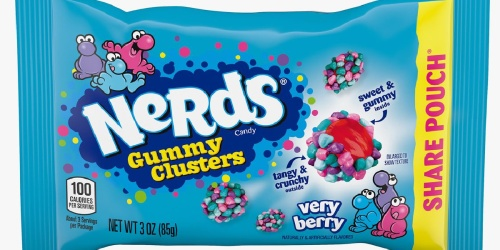 Nerds Gummy Clusters Available Soon in Very Berry Flavor