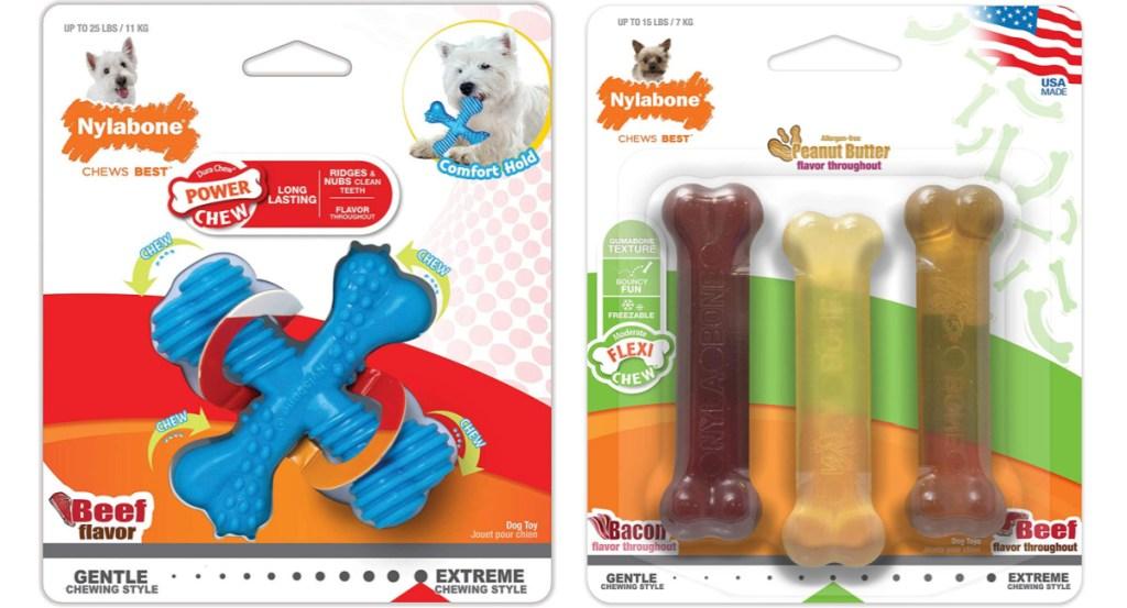 nylabone dog toys