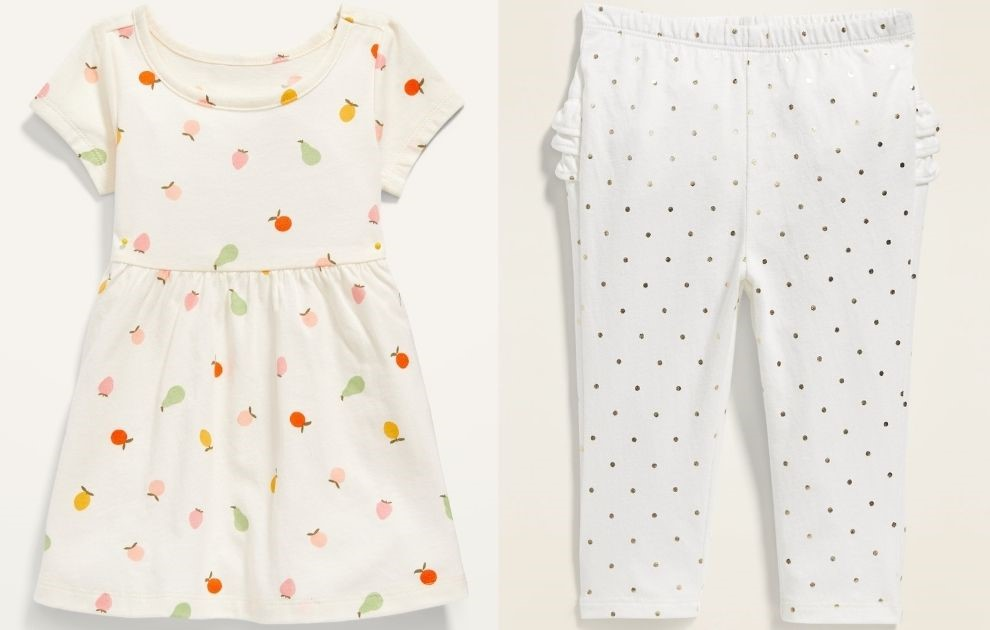 Old Navy Baby Dress and Leggings