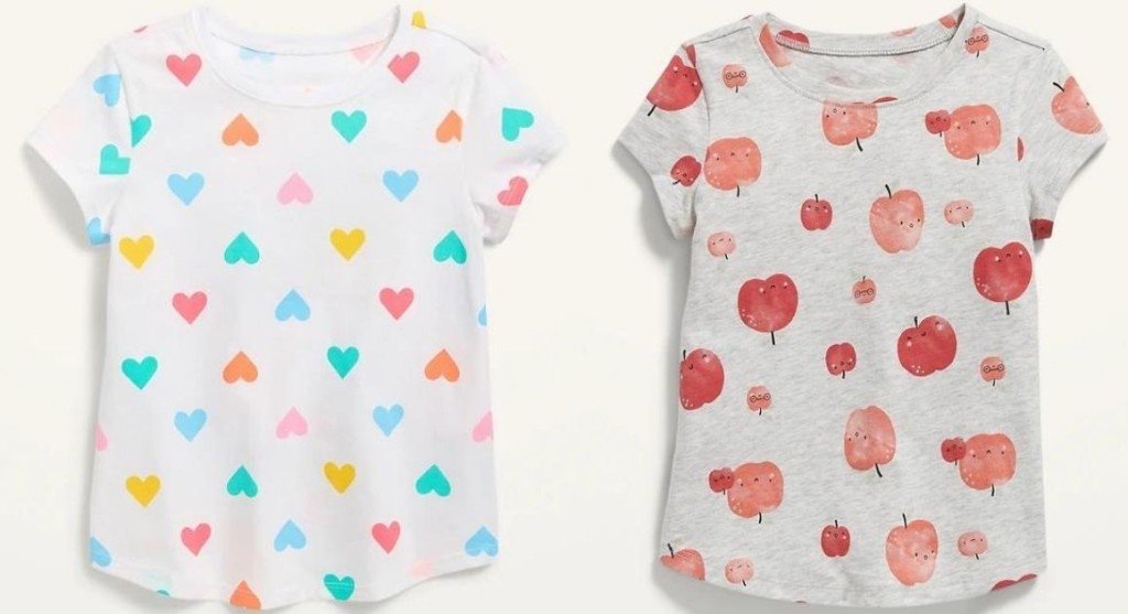 two girls tees