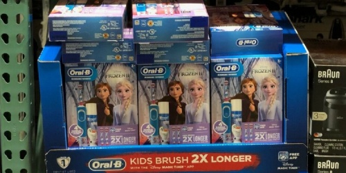 Oral-B Kids Disney Rechargeable Electric Toothbrush Only $29.99 Shipped on Costco.com
