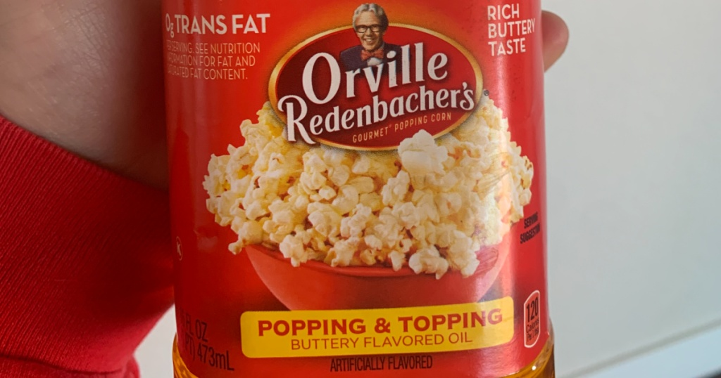 Orville Redenbacher's Popping & Topping Buttery Flavored Oil