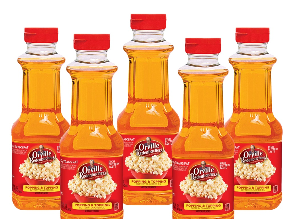 Orville Redenbacher's Popping & Topping Buttery Flavored Oil 6 Pack