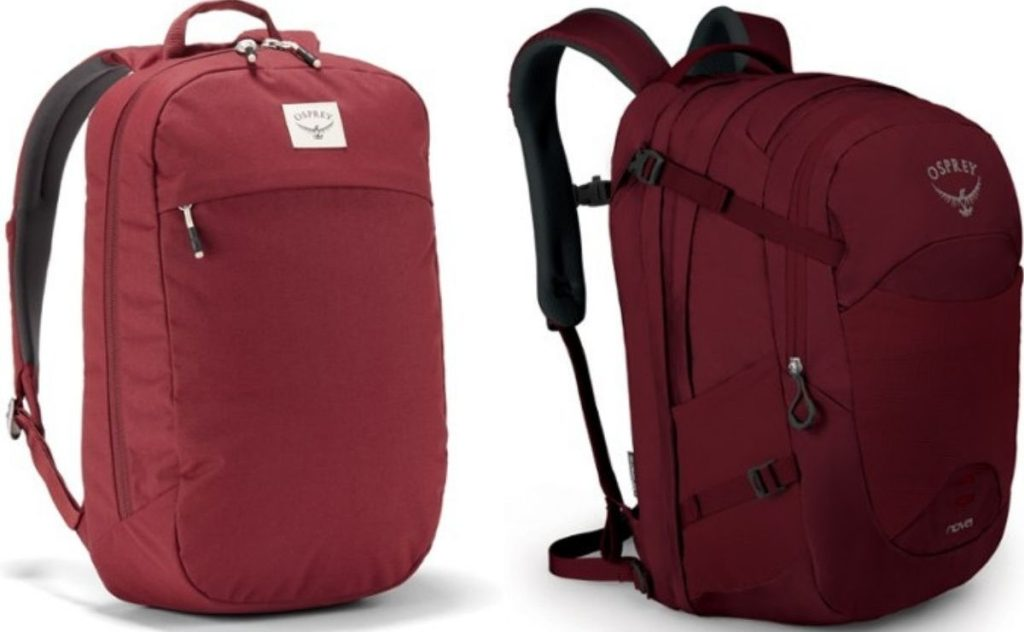 two Osprey Bags