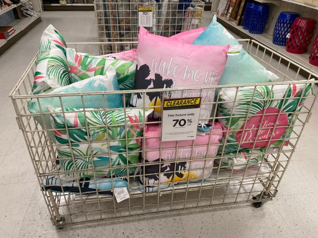 Outdoor Pillows at Michaels