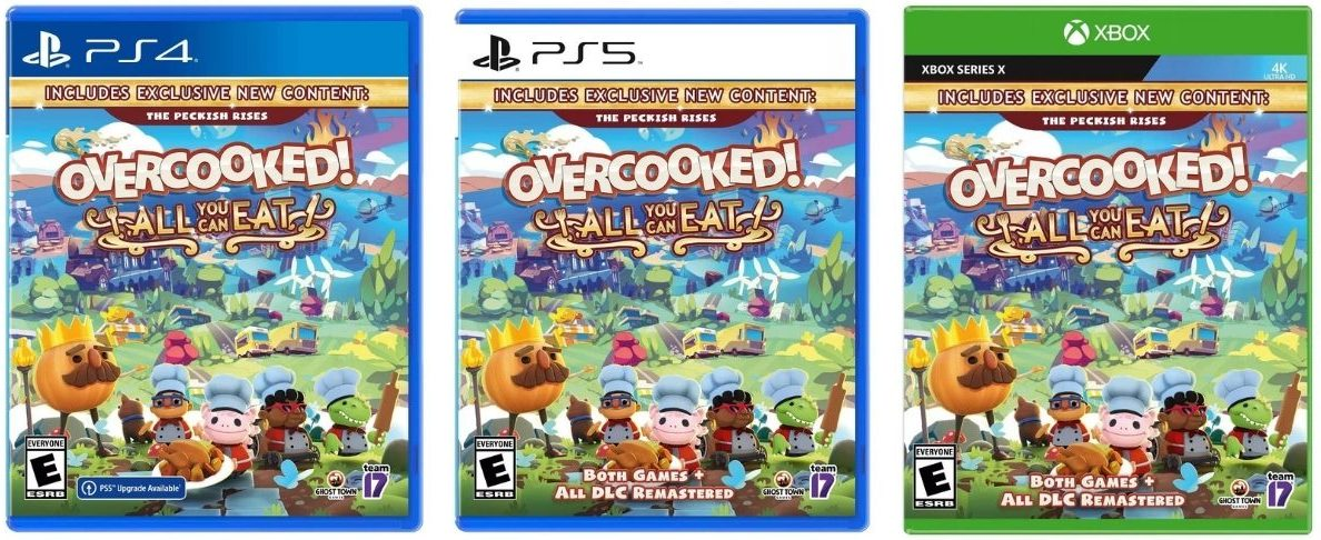 Overcooked All You Can Eat Video Game