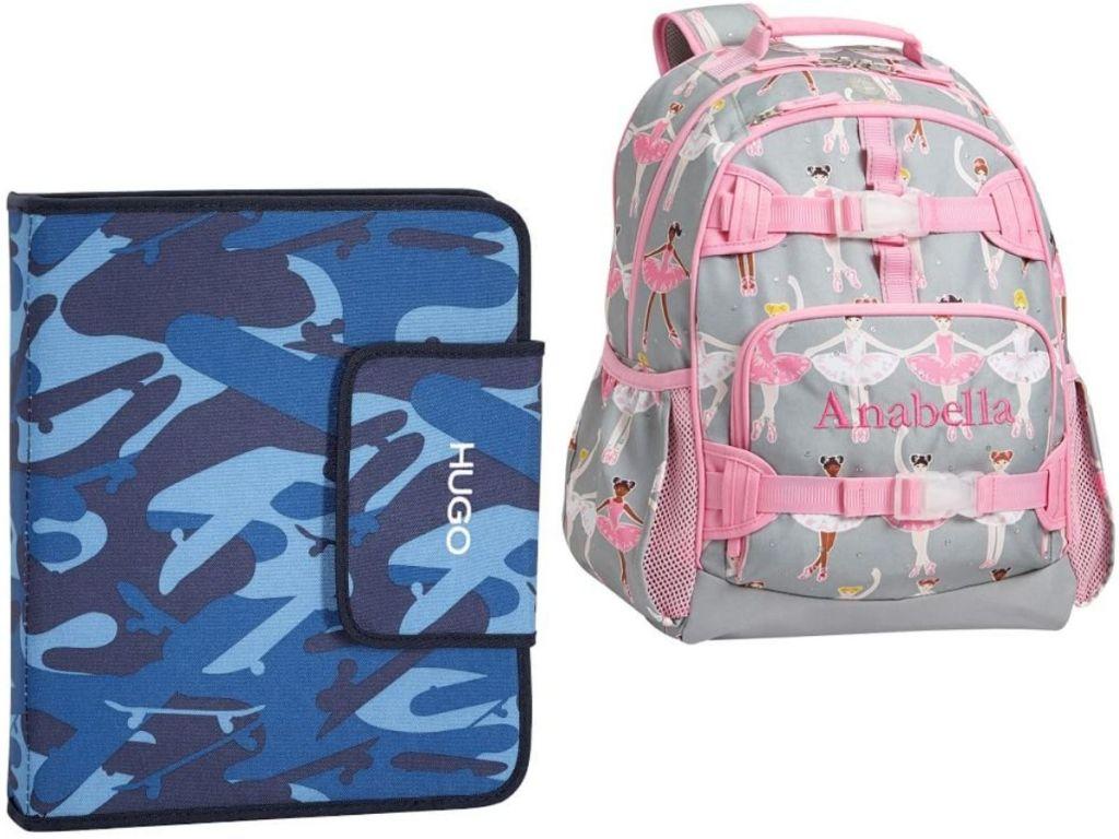 PBK Homework Folder and Backpack