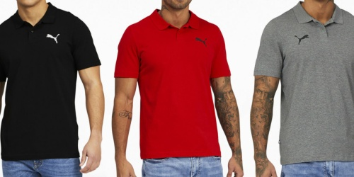 Up 70% Off PUMA Apparel + FREE Shipping | Men's Polos Just $9.99 Shipped