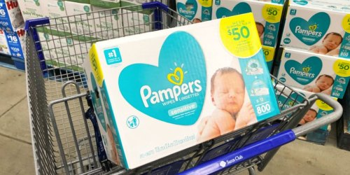 Over $3,000 in Instant Savings for Sam's Club Members   HOT Deals on Baby Wipes, Toilet Paper, Cereal & More
