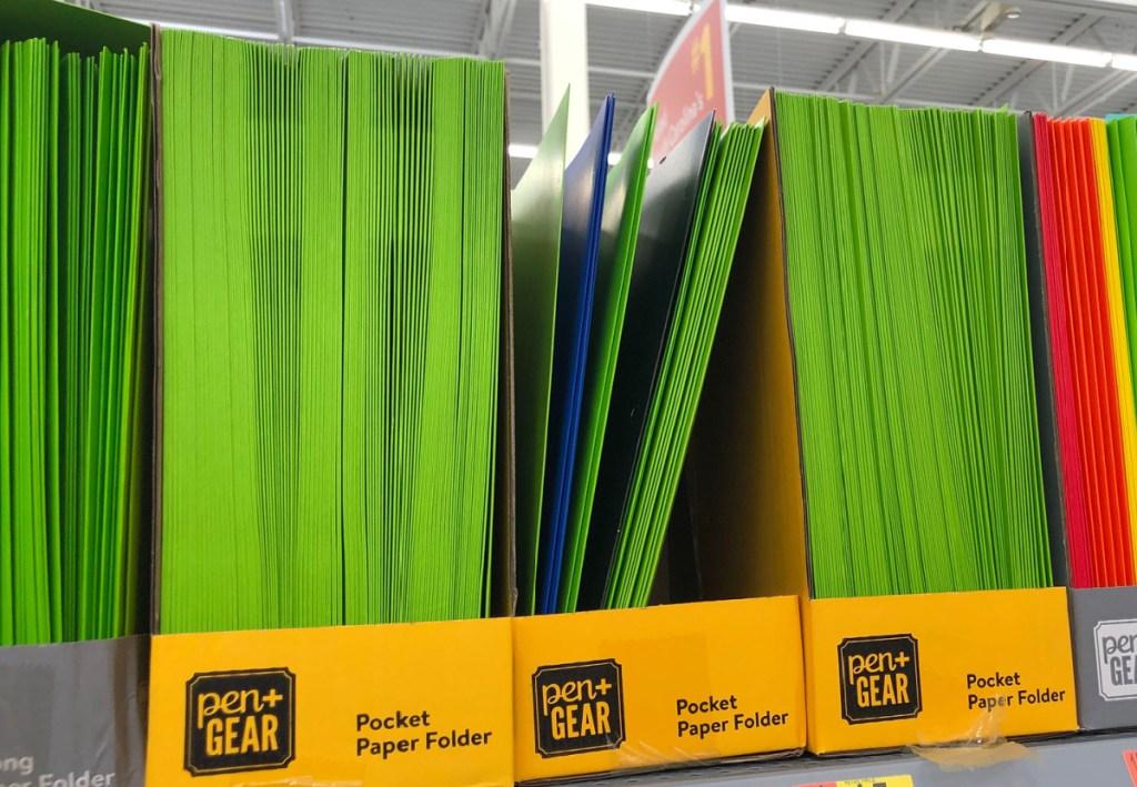 Pen + Gear 3-Prong Paper Folder