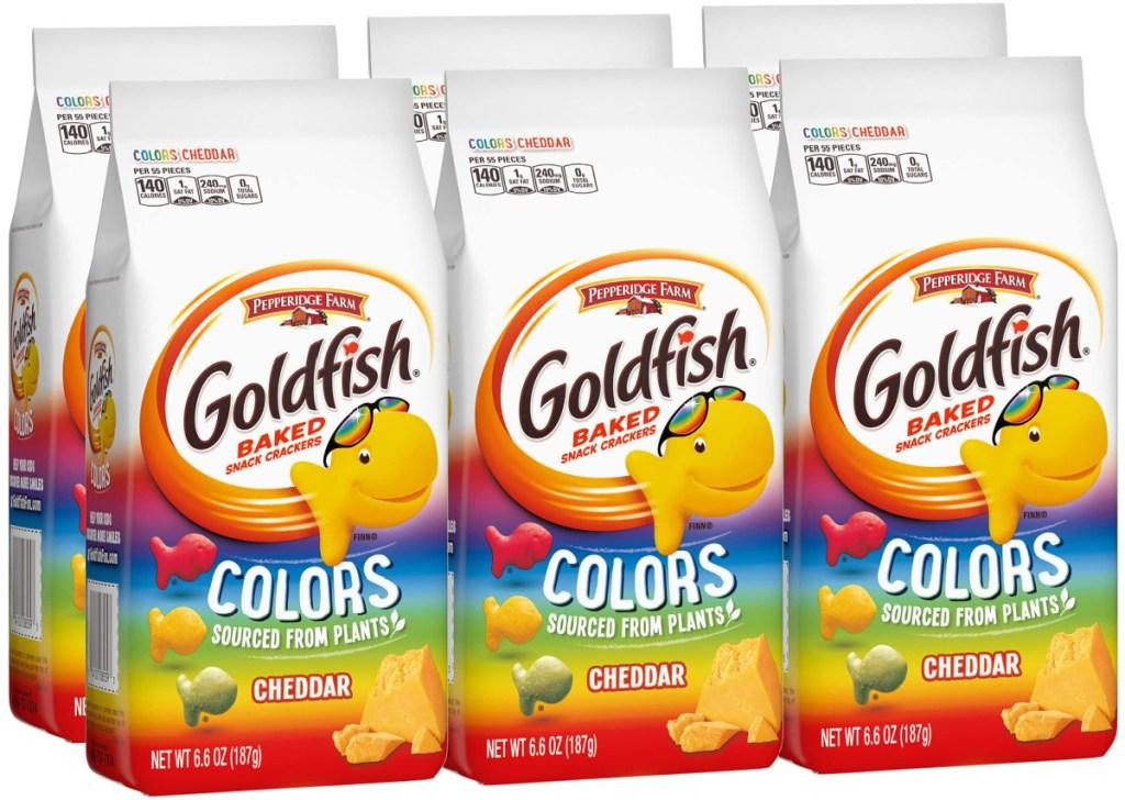 pepperidge farm colors goldfish