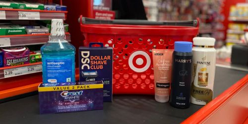 Best Target Weekly Ad Deals 8/1-8/7 (Free $5 Gift Card w/ $20 Beauty Purchase & More!)