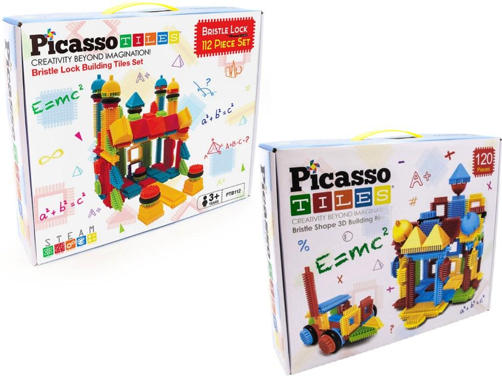PicassoTiles Bristle Block Sets