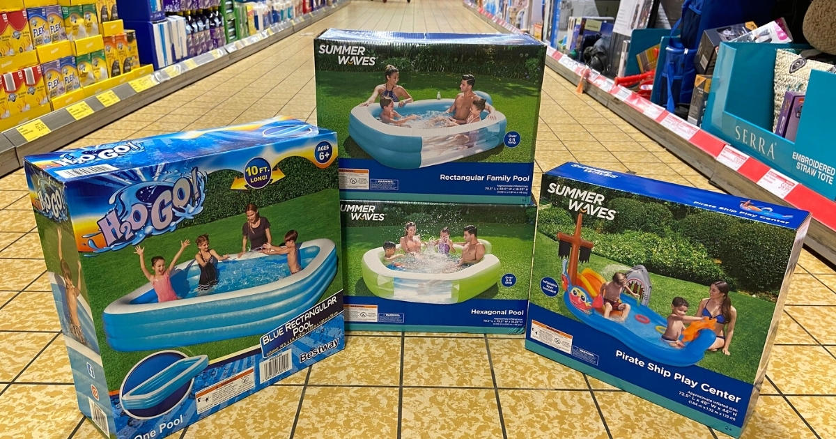 Pools and Water Slides at ALDI