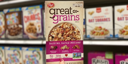 Post Great Grains Cereal 16oz Only $1.66 on Amazon (Regularly $3)