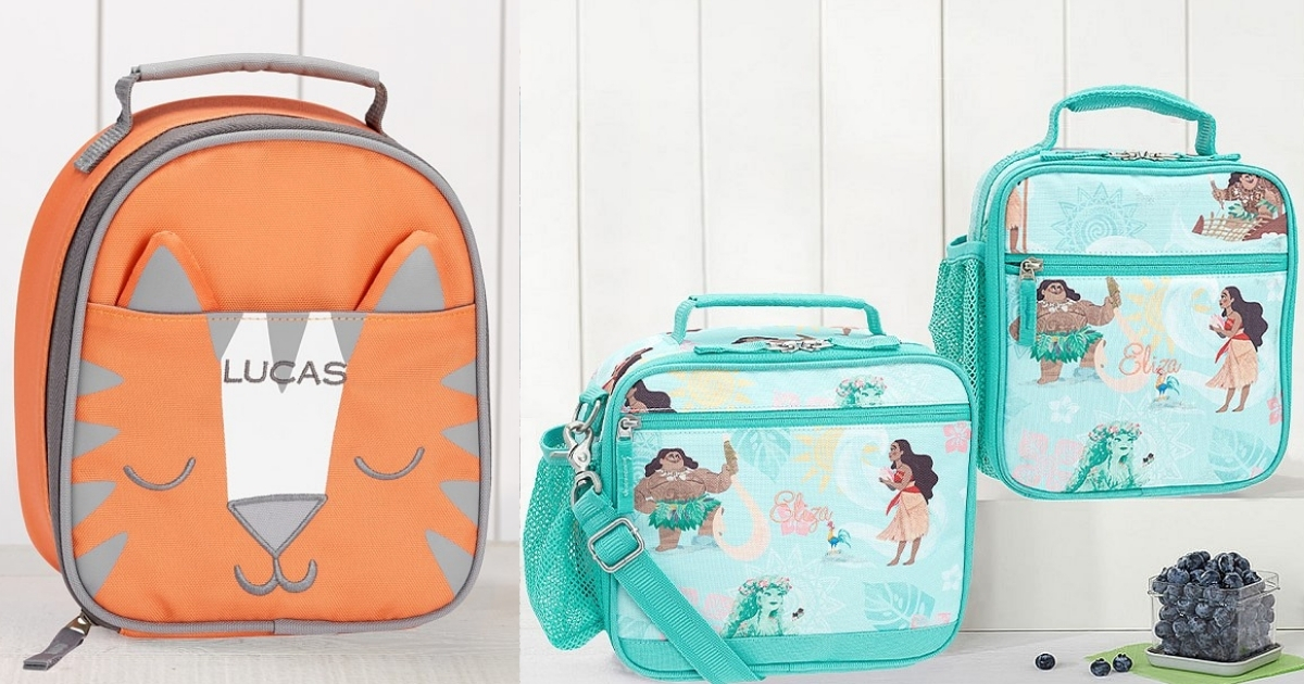 Pottery Barn Kids Pouches and Lunch Boxes